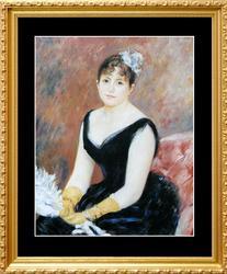 Pierre Auguste Renoir, Madame Clapisson