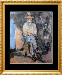 Paul Cezanne, The Gardner