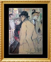Henri Toulouse Lautrec, Alfred la Guigne