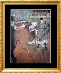 Henri Toulouse Lautrec, Quadrille at the Moulin Rouge