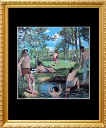Frederic Bazille, Bathers