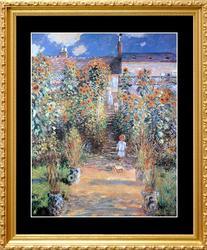 Claude Monet, The Artist's Garden at Vetheuil