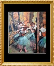 Edgar Degas, Dancers, Pink And Green