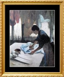 Edgar Degas, Woman Ironing