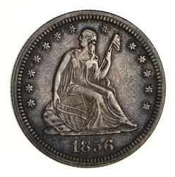 1856 Seated Liberty Quarter - Near Uncirculated
