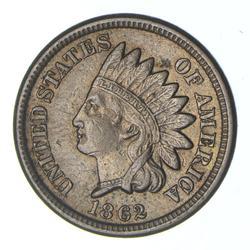 1862 Indian Head Cent - Choice