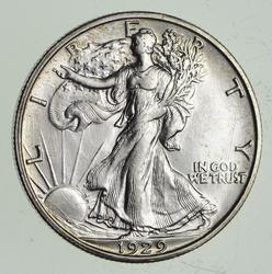 1929-S Walking Liberty Half Dollar - Choice