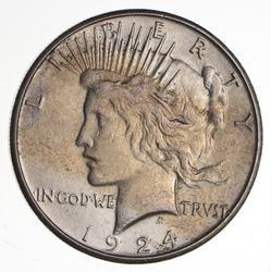 1924-S Peace Silver Dollar - Choice