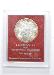 1889-S Morgan Silver Dollar - The Redfield Collection - 65 Quality
