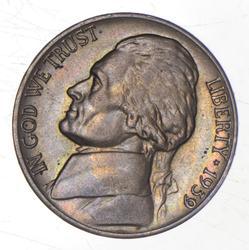 1939-D Jefferson Nickel
