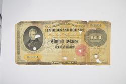 1900 $10,000 United States Gold Certificate - Large Note