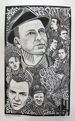 Ben G. Hand Signed, Frank Sinatra Rat Pack