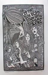 Ben G. Hand Signed, Led Zeppelin