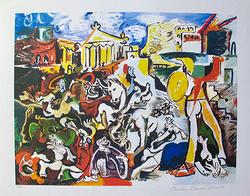 Pablo Picasso, The Rape Of The Sabine Women