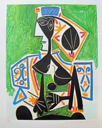 Pablo Picasso, Woman In Green