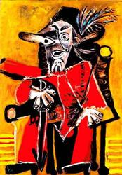 Pablo Picasso, The Musketeer