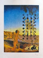Hand Signed, Dali Nude In Contemplation