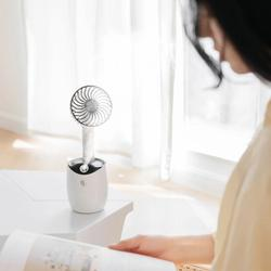 Rotating Spray Air Humidifier Fan USB Charging