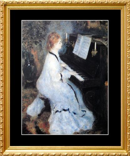 Pierre Auguste Renoir, Lady At The Piano