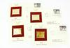 4 Cats 1st Day Issues with 14KT Gold Stamps, 1988