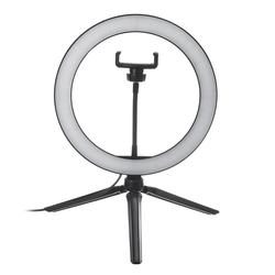 10 Inch Dimmable LED Ring Light with Tripod Stand