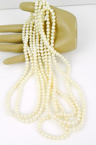 100 Inch Extra Long Freshwater Pearls Necklace