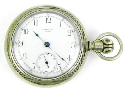 Early Century Seth Thomas Pocket Watch, As Is