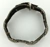 Vintage Silver and Leather Bracelet