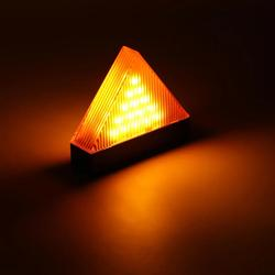 Rechargeable LED Car Triangle Warning Strobe Lights