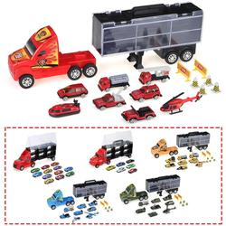 Car Toy Container Truck Carrier