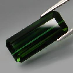 Exquisite 7.86ct deep green Tourmaline
