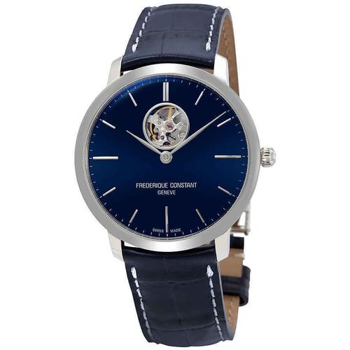 New Mens Frederique Constant Swiss Automatic Blue Dial