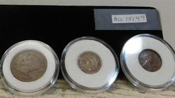 Cent Collection: Large Cent, Indian cent, Lincoln Wheat