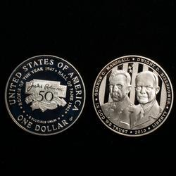 1997 S Jackie Robinson&2013 5 Star Generals Pr Silver $