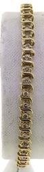 Popular 1ctw Diamond S Link Line Bracelet