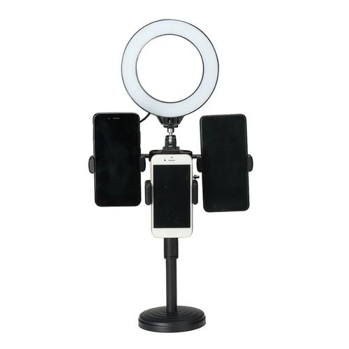 Selfie Make-up LED Ring Light Clip Phone Holder