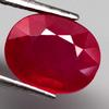 Fabulous 3.97ct top blood red Ruby