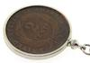 1883 United States Two Cent Coin Keychain