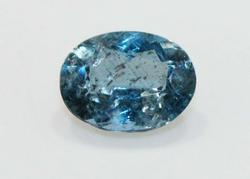 Deep Sea Blue Natural Aquamarine - 1.88 cts.
