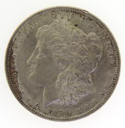 1896 Morgan Silver Dollar Coin