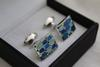 Handsome Pair Of Cufflinks By Carelli