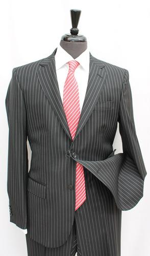 A Sharp Slim Fit Suit, Made In Italy By Galante