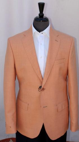 Stylish Modern Fit Sport Coat By Galante, Made In Italy