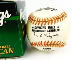 Ripken Orioles American League Baseball & Box