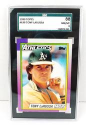 1990 Tony Larussa Graded Baseball Card