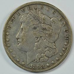 Scarce 1893-P Morgan Silver Dollar in XF