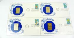 1979 Endangered Flora 1st Day Covers & 14K Stamps