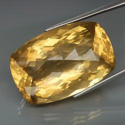 AAA cut and color 71ct Brazilian Citrine