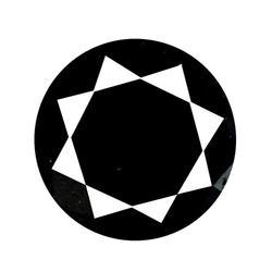 Silky 1.23ct black Diamond solitaire