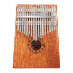 17 Keys Wood Kalimba Mahogany Thumb Piano